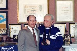 1992 Andrés Bermea con  Ismael Rodríguez