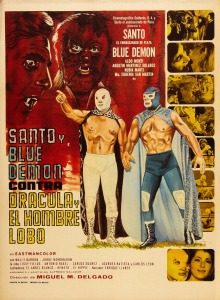 Santo y Blue Demon contra Drácula y el hombre lobo