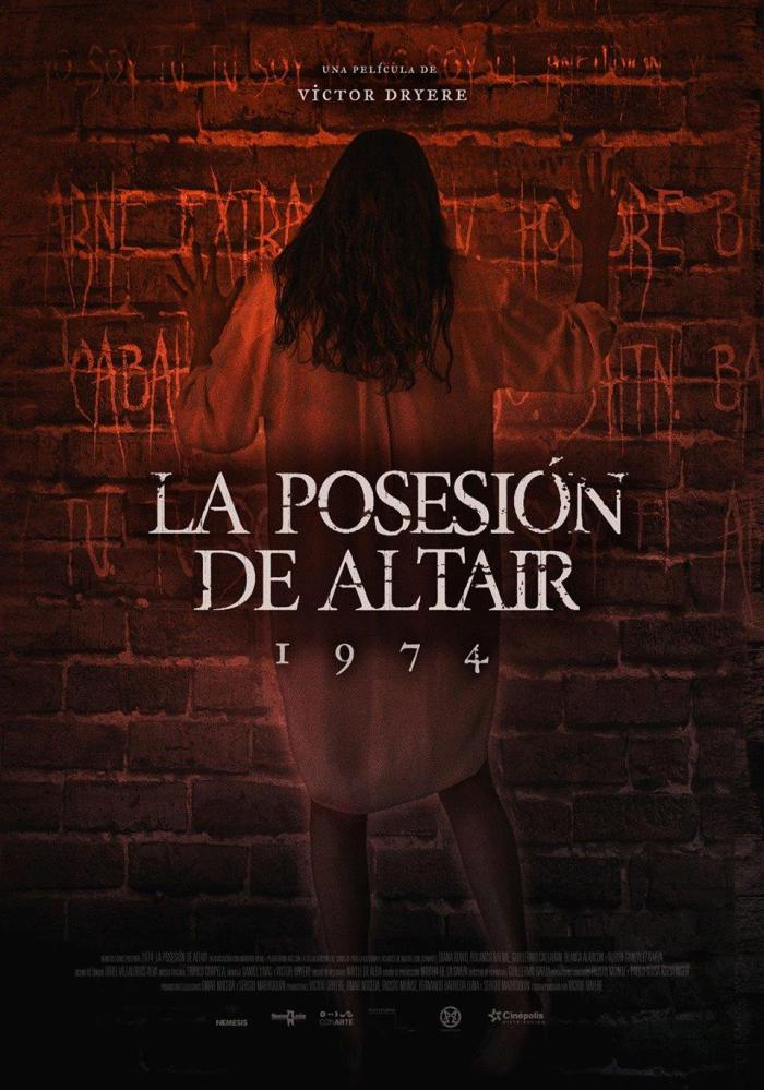1974 La Posesión de Altair - Poster